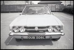 506L (fawcetownsley) Tags: film car kodak technicalpan rodinal 25asa diy developer fixer olympus zuiko yorkshire ford schwarzweiss blackandwhite bw 7min 1to150 35mm 35mmf2 f2