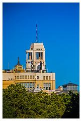 ... El templo de Atenea ( y la torre de Fenix ) ... (Lanpernas 4.0) Tags: madrid crculodebellasartes atenea minerva arquitectura architecture urbanite elcielodemadrid terraza mitologa mediterrneo greciacapta