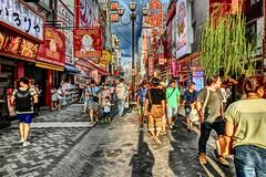 busy street, Dotonbori, Osaka (jtabn99) Tags: 20160818 dotonbori namba osaka japan nippon nihon busy crowded dusk street people tour