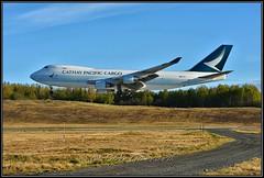 B-LIA Cathay Pacific Cargo (Bob Garrard) Tags: blia cathay pacific cargo boeing 747 anc panc