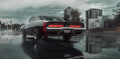 Dodge Charger 1969 (Mikhail Sharov) Tags: dodge charger atmosphere rain weather forza horizon forzahorizon outdoor vehicle