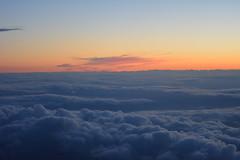 Beyond infinity (Polya Photography) Tags: clouds sunset sundown airplane infinity
