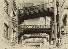 Shad Thames 3 (branestawm2002) Tags: thames towerbridge vintage bridges doctorwho wharf warehouses daleks spicetrade