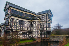 Little Morton Hall (Tony Shertila) Tags: family england house building weather architecture clouds europe day estate cheshire cloudy britain medieval tudor explore manor halftimbered congleton littlemoretonhall oldmoretonhal
