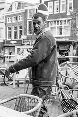 Looking at me? (Charlie Mike Photography) Tags: street people man netherlands nederland workshop portret leeuwarden straatbeeld mensen straatfotografie