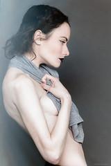 House Guest (FLASHFLOOD) Tags: woman girl beauty studio pale topless click aoife flashflood strobist flashfloodstudios