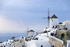 Sunset, Oia, Santorini, Greece (dkjphoto) Tags: travel tourism greek volcano europe mediterranean tour aegean tourist historic santorini greece caldera oia cyclades thira fira wwwdenniskjohnsoncom denniskjohnson
