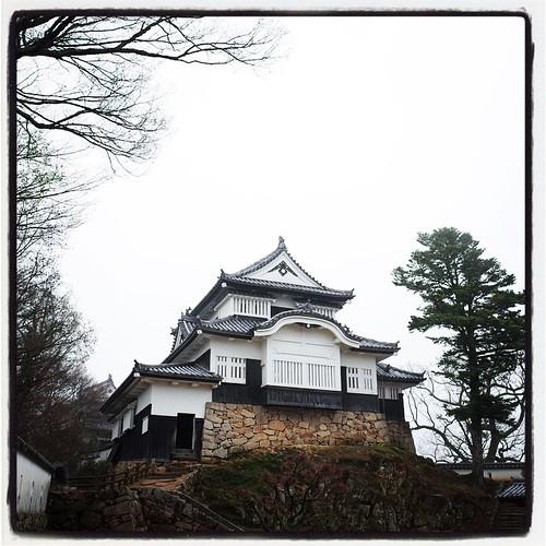 備中松山城。浅野内匠頭が城主だった時代もあったのか。 #日本百名城 #現存12天守 いやー登ってくるの大変でした。。。