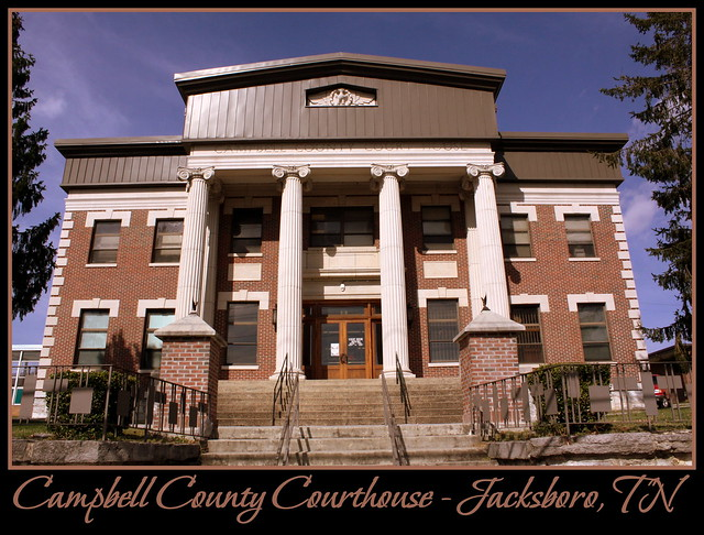 For Sale: TN Courthouse Postcard Collection: Campbell
