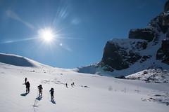 Ascending shadows (Nice Nature) Tags: mountain snow ski nature norway canon landscape powder alpine telemark lofoten slalom vesterlen randonee 70d pilan