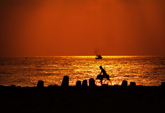 DSC_64351 ( explored) (nabilelsherif) Tags: morning sea orange sun sunrise boat nikon ride zoom egypt nikkor egy d7100 55300vr 55300mmvr nikond7100 nabielsherif