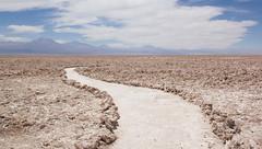 Footpath on the Salar the Atacama, San Pedro de Atacama, Chile (maxunterwegs) Tags: chile landscape chili path sanpedrodeatacama salardeatacama pfad antofagasta losflamencosnationalreserve reservanacionallosflamencos