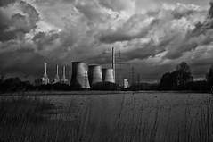 the other day behind the power plant (RadarO´Reilly) Tags: bw germany deutschland blackwhite kohle gas sw powerplant kraftwerk coal werne schwarzweis gersteinwerk