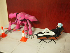 concrete texture (naitma) Tags: miniature diorama plamodel busoushinki gumpla 武装神姫