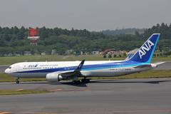 JA627A Boeing 767-381ER(WL) ANA Air Japan (pslg05896) Tags: tokyo ana narita nrt boeing767 rjaa airjapan ja627a