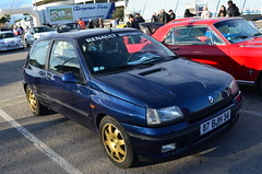 Renault Clio Williams (benoits15) Tags: old classic cars car vintage french nikon automobile flickr williams clio automotive voiture historic retro renault coches anciennes palavas comptition