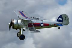 Gloster Gladiator II - 11 (NickJ 1972) Tags: aviation airshow ii gladiator mkii gloster 2014 sywell gglad n5903