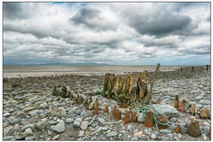 Salterstown Beach (Tony Kav) Tags: county beach town stones tony ropes louth kavanagh groins salters