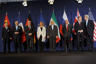 Announcement after negotiations in Lausanne - Iran Talks