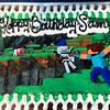 Happy Birthday Sam! How'd you like your Minecraft cookie cake? #onlythecookiestore #wolfchase (The Cookie Store) Tags: birthday cake happy cookie sam you like your howd wolfchase minecraft onlythecookiestore