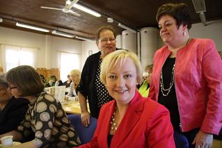 Elsi Katainen, Raili Myllylä ja Minna Siira