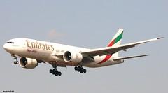 A6-EFK - Boeing 777-F1H - Emirates SkyCargo (Hoddle747) Tags: emirates ek fra boeing777 skycargo