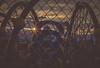 playground fence sunset (auntneecey) Tags: sunset playground fence sunburst odc xmarksthespot fencefriday fencedfriday fencesandorgates