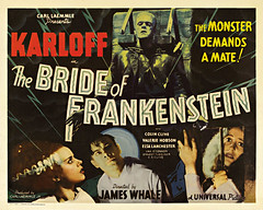 HM-31  Bride of Frankenstein Classic Vintage Horror Movie Posters (museumoutlets.com) Tags: classic vintage framed posters horrormovie brideoffrankenstein madeinusa karloff