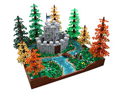 Stonecreek Forest ('Sergeant Chipmunk') Tags: lego castle