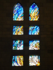 By the Light of Day (Steve Taylor (Photography)) Tags: newzealand christchurch art church window glass contrast earthquake cathedral nelson stainedglass nz quake southisland anglican leadedlights