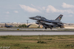 F-16D Fighting Falcon, Turkish Air Force, Exercise Anatolian Eagle 2016, Turkey (harrison-green) Tags: f16c fighting falcon turkish air force anatolian eagle 2016 turkey f16 pakistan aircraft aviation nato jet canon eos 700d sigma 150500mm vehicle outdoor airplane airliner pakistani exercise