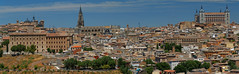 Toledo (jacekbia) Tags: europa hiszpania spain kastylialamancha toledo panorama city hugin miasto outdoor architecture skyline lamancha españa