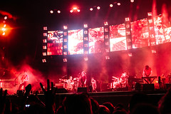 Radiohead at NOS Alive 2016 (kristinacortez) Tags: travel music portugal rock concert tour lisbon live thomyorke radiohead clive musicfestival jonnygreenwood colingreenwood musicphotography deamer edobrien amsp philipselway nosalive amoonshapedpool nosalive2016