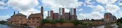 Riverside Panoramic (lcfcian1) Tags: city water skyline river riverside leicestershire leicester centre panoramic waterway soar riversoar leicestercitycentre riversidepanoramic