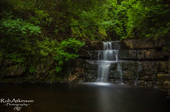 Summerhill force (R0BERT ATKINSON) Tags: summerhillforce gibsonscave teesdale middletoninteesdale waterfall water rocks trees robatkinsonphotography sigma1020 leefilter nikond5100 northeastengland
