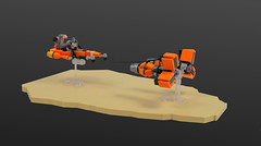Microfighter: Sebulba's podracer (cecilihf) Tags: lego moc podracer sw starwars star wars pod sebulba microfighter micro