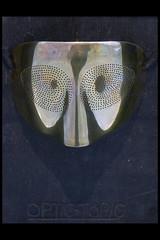 masker - optic topic 01 1974-1978 man ray (sm den bosch 2016) (Klaas5) Tags: holland netherlands picturebyklaasvermaas art exhibition tentoonstelling stedelijkmuseumdenbosch niederlande paysbas nederland kunst kunstwerk artwork postwarart mask