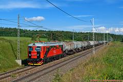 CRW 182.115 , Pn 1.nsl 45749, Letanovce, 24.06.2015 (Michal350) Tags: crw 182 115 letanovce vlak cisterny nafta trebisov kralupy nad vltavou central railways
