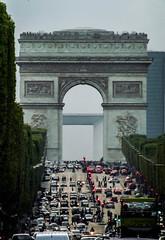 patrickrancoule-271 (Patrick RANCOULE) Tags: paris france arcdetriomphe champselyses voitures