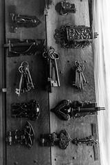 Snowshill manor (Indie Images) Tags: blackandwhite monochrome keys mono key lock locks nationaltrust daysout snowshillmanor blackandwhitephotograph blackandwhiteimage