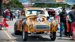 Stunning Willys (Mark O'Grady - Proudly Serving Millions of Viewers) Tags: 2016 2016goodguysppgnationals carshow columbusohio goodguys mospeedimages outdoor vehicle willys willysoverland gasser goodguysppgnationals custompaint sweetride hotrod