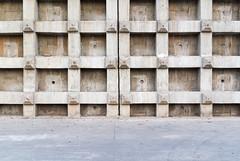 Concrete grid wall (herr loeffler) Tags: asia asien china chongqing gitter concretewall energysource environment grid naturalresources texture windpower cn