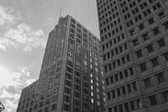 05 (marcopiras1991) Tags: city berlin design architecture blackandwhite vintage building mirror urban street highstreet photography bianco e nero monocromo architettura edificio allaperto grattacielo maglia