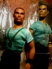 The Reid Brothers (krixxxmonroe) Tags: ira d ryan photography krixx monroe styling ooak custom integrity toys fashion royalty tariq darius reid handsome black brown aa male doll models