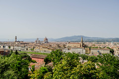 (NormandySR2) Tags: cityscape landscape firenze florence toscana tuscany italia italy view sun sky historic piazzale michelangelo
