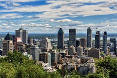 Montreal from Above (brev99) Tags: montreal canada cityscape skyline city sigma1770os d7100 buildings clouds hdrefexpro perfectenhance10 ononesoftware