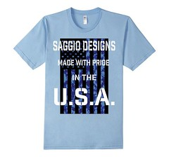 Made in the USA Blue Camo Flag Light Blue T-Shirt (Saggio Designs) Tags: different live tshirt your passion designs success determination persistence saggio individuality perfectly