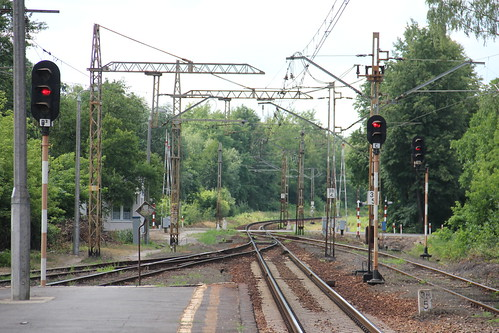 Level crossing , Celestynów train station 04.07.2016