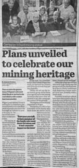 Wigan proposed mining statue feature 27th June 2016 (Pitheadgear) Tags: uk industry monument statue mine pit lancashire mines coal miners colliery wigan coalminer coalminers coalmining socialhistory industrialhistory collieries coalindustry wigancouncil wiganborough ipits
