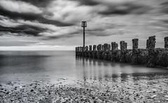 North beach (Darren Speak) Tags: bw beach long exposure nd sky sea clouds